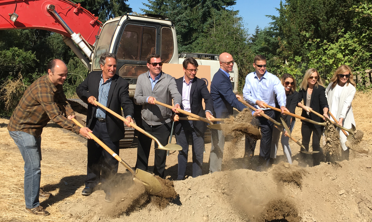 DAHLIN, MainStreet Property Group, Grosvenor Break Ground