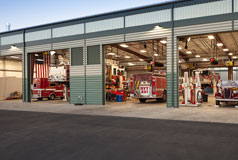 Picture of ACFD Vehicle Maintenance Facility